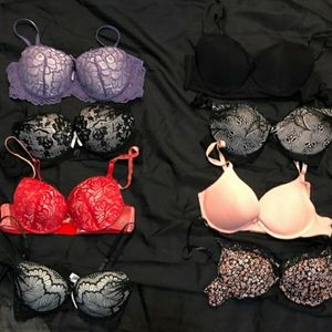 Bundle of 8 bra's all size 36b in good condition.
